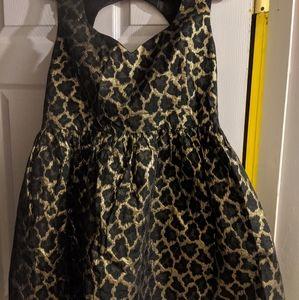 ASOS mini dress cheetah print EUC 14